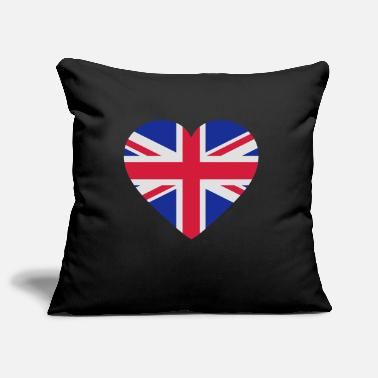 Shape Underwear Heart Britain - Pillowcase 17,3'' x 17,3'' (45 x 45 cm)