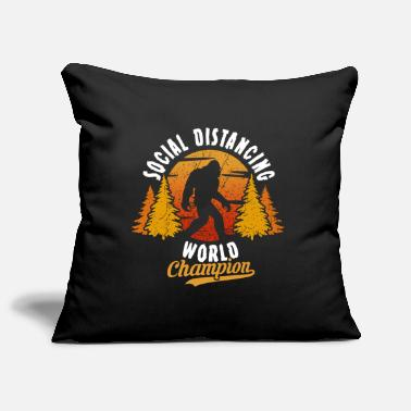 Social Distancing World Champion - Pillowcase 17,3'' x 17,3'' (45 x 45 cm)