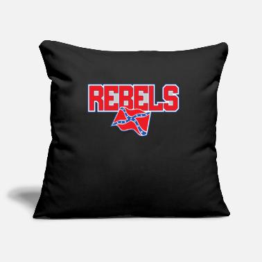 Confederate Rebel Rebels Team Logo - Pillowcase 17,3'' x 17,3'' (45 x 45 cm)