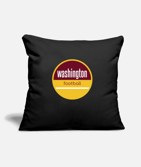 Washington, D.C. Pillow Cases - Washington football - Pillowcase 17,3'' x 17,3'' (45 x 45 cm) black