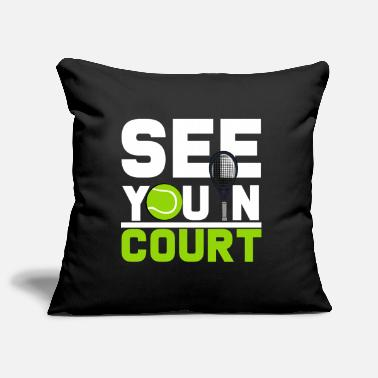 Tennis Court tennis court - Pillowcase 17,3'' x 17,3'' (45 x 45 cm)