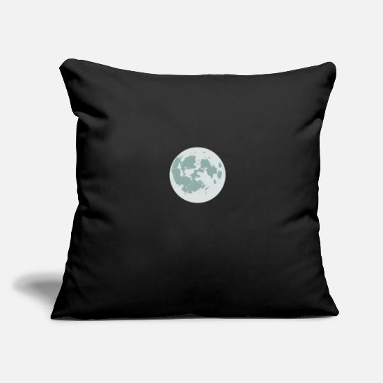 Astronaut Pillow Cases - moon - Pillowcase 17,3'' x 17,3'' (45 x 45 cm) black