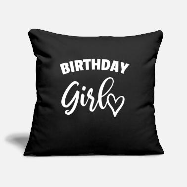 Birthday Present Birthday girl birthday present saying present - Pillowcase 17,3'' x 17,3'' (45 x 45 cm)