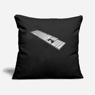 Keyboard keyboard - Pillowcase 17,3'' x 17,3'' (45 x 45 cm)