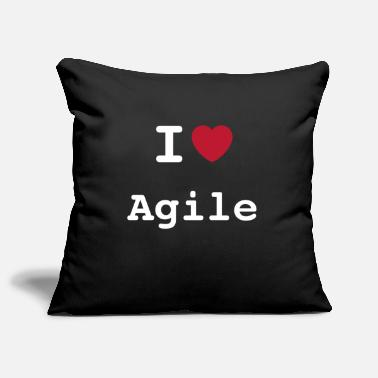 I Love Agile | I love Agile - Pillowcase 17,3'' x 17,3'' (45 x 45 cm)