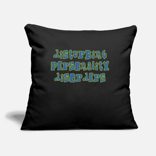 Guys Night Out Pillow Cases - disturbing - Pillowcase 17,3'' x 17,3'' (45 x 45 cm) black