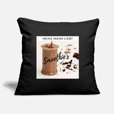 Schoko SCHOKO SMOOTHIE black - Pillowcase 17,3'' x 17,3'' (45 x 45 cm)