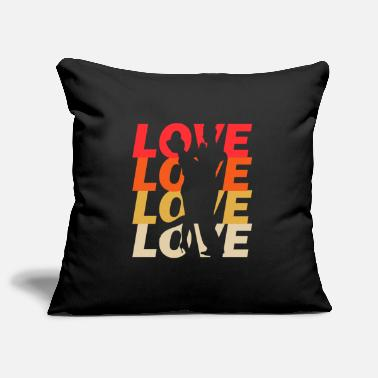 Couples & couple - Pillowcase 17,3'' x 17,3'' (45 x 45 cm)