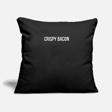 Crispy Crispy Bacon - Pillowcase 17,3'' x 17,3'' (45 x 45 cm)