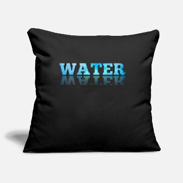 Water Water / water logo - Pillowcase 17,3'' x 17,3'' (45 x 45 cm)