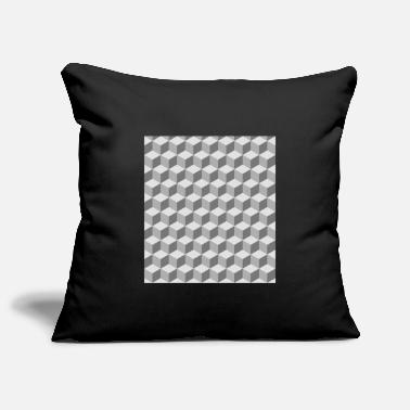 Pattern Block pattern pattern - Pillowcase 17,3'' x 17,3'' (45 x 45 cm)