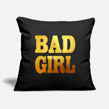 Girls BAD GIRL - Pillowcase 17,3'' x 17,3'' (45 x 45 cm)
