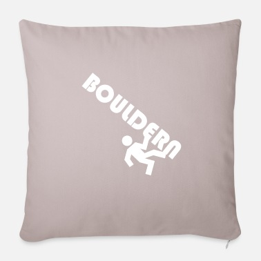 Rock Face For bouldering in the rock face - Pillowcase 17,3'' x 17,3'' (45 x 45 cm)