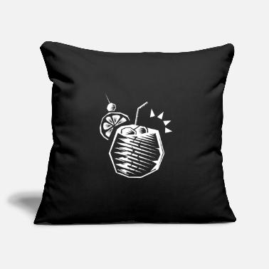Alive I love food. - Pillowcase 17,3'' x 17,3'' (45 x 45 cm)