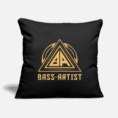 Goa Techno Label Bass Artist Gold Edition - Housse de coussin