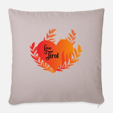 Love Tyrol - Pillowcase 17,3'' x 17,3'' (45 x 45 cm)