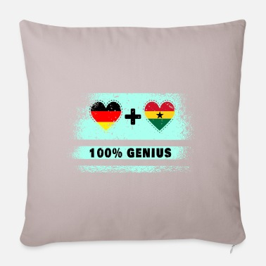Kumasi Germany and Ghana 100% brilliant / gift - Pillowcase 17,3'' x 17,3'' (45 x 45 cm)
