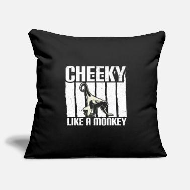 Ape Monkey jungle gift idea - Pillowcase 17,3'' x 17,3'' (45 x 45 cm)