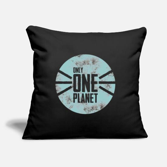 Planet Pillow Cases - planet - Pillowcase 17,3'' x 17,3'' (45 x 45 cm) black