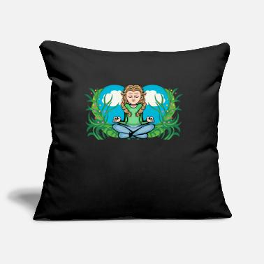 green girl - Pillowcase 17,3'' x 17,3'' (45 x 45 cm)
