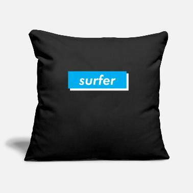 Blueness surfer - Pillowcase 17,3'' x 17,3'' (45 x 45 cm)