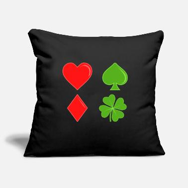 Clover Guys! Have This St. Patrick's Tee Cards Tshirt - Pillowcase 17,3'' x 17,3'' (45 x 45 cm)