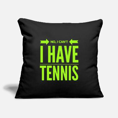 Backhand Tennis Tennis Player Tennis Racket Sport Gift - Pillowcase 17,3'' x 17,3'' (45 x 45 cm)