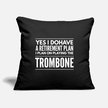Classic Trombone orchestra wind instrument music gift 1 - Pillowcase 17,3'' x 17,3'' (45 x 45 cm)