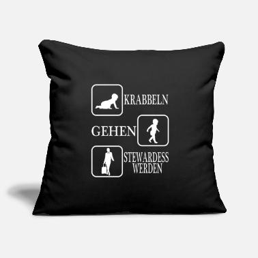 Post A Perfect German Tee For Stewardess To Be Saying - Pillowcase 17,3'' x 17,3'' (45 x 45 cm)