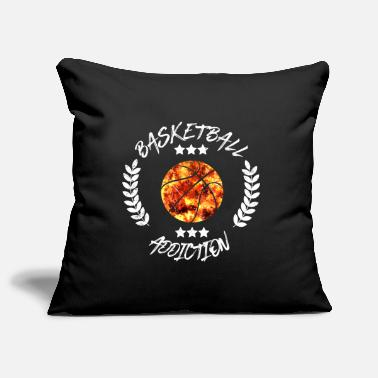 Addicted Basketball Addiction - Addict addicting ball sports - Pillowcase 17,3'' x 17,3'' (45 x 45 cm)