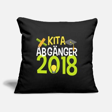 School KITA ABGÄNGER school child enrollment elementary school - Pillowcase 17,3'' x 17,3'' (45 x 45 cm)