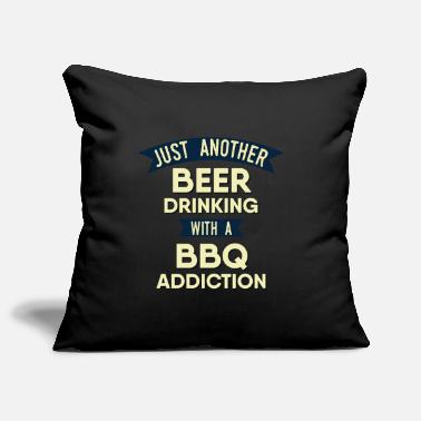 Grill Master BBQ Chef BBQ Grill Smoken Party - Pillowcase 17,3'' x 17,3'' (45 x 45 cm)
