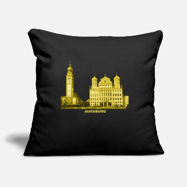 Town Hall Augsburg Swabia Bavaria Town Hall Perlach Tower - Pillowcase 17,3'' x 17,3'' (45 x 45 cm)