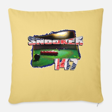 147 SNOOKER 147 - Pillowcase 17,3'' x 17,3'' (45 x 45 cm)