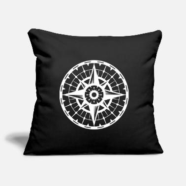 Travel compass - Pillowcase 17,3'' x 17,3'' (45 x 45 cm)