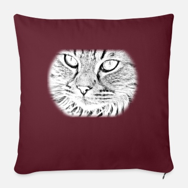 Catty catty - Pillowcase 17,3'' x 17,3'' (45 x 45 cm)