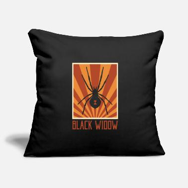 Crier Spider Spider Scaredy Jambes Jambes Jambes Sous-sol - Housse de coussin décorative 44 x 44 cm