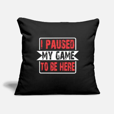 Funny Gaming gamble funny nerd video game - Pillowcase 17,3'' x 17,3'' (45 x 45 cm)