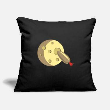Moon Landing Moon landing moon rocket - Pillowcase 17,3'' x 17,3'' (45 x 45 cm)