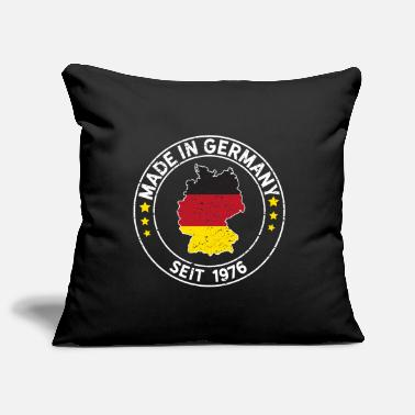 Year Of Birth Made In Germany Since 1976 Birthday Gift Idea - Pillowcase 17,3'' x 17,3'' (45 x 45 cm)