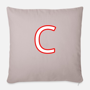 C C - Pillowcase 17,3'' x 17,3'' (45 x 45 cm)