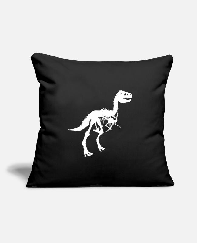 Extinct Pillow Cases - Tyrannosaurus Rex - Pillowcase 17,3'' x 17,3'' (45 x 45 cm) black