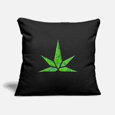 Stylised Leaf Shape - Pillowcase 17,3'' x 17,3'' (45 x 45 cm)