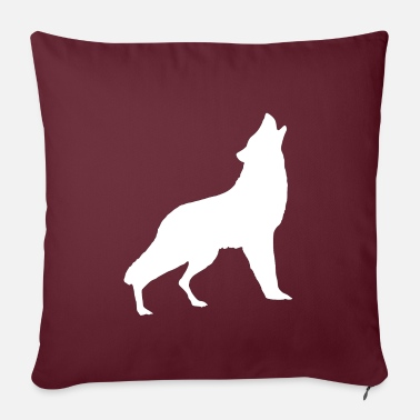 Pack Wolf pack Wolf pack - Pillowcase 17,3'' x 17,3'' (45 x 45 cm)