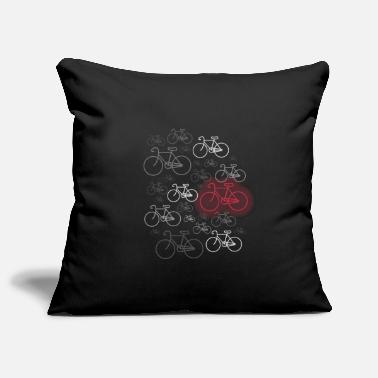 Road Bike Bike or road bike driver - Pillowcase 17,3'' x 17,3'' (45 x 45 cm)