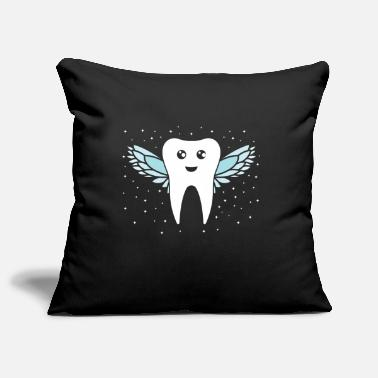 Tooth Tooth fairy tooth - Pillowcase 17,3'' x 17,3'' (45 x 45 cm)