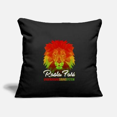 Rasta Rasta Fari LION - Pillowcase 17,3'' x 17,3'' (45 x 45 cm)