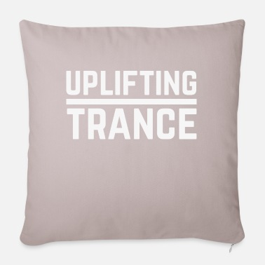 Music Genre Uplifting Trance - Pillowcase 17,3'' x 17,3'' (45 x 45 cm)