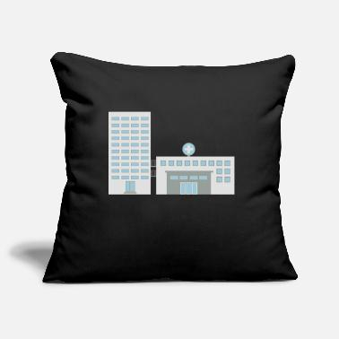 Hospitals Hospital - Pillowcase 17,3'' x 17,3'' (45 x 45 cm)