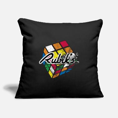 Rubik's Cube Colourful Retro Magic Cube - Tyynynpäällinen